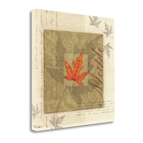Maple By Tandi Venter, Gallery Wrap Canvas