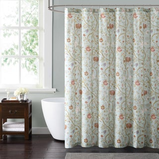 Style 212 Bedford Blue 72 x 72 Shower Curtain