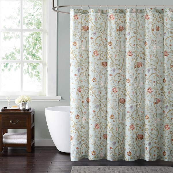 Shop Style 212 Bedford Blue 72 X 72 Shower Curtain On Sale Free