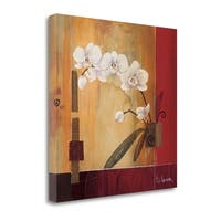 Orchid Lines II By Don Li-Leger,  Gallery Wrap Canvas - 22 x 22