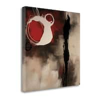 Resonance In Red By Laurie Maitland,  Gallery Wrap Canvas - 22 x 22