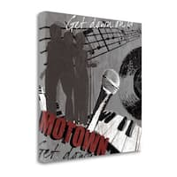 Motown By Tandi Venter,  Gallery Wrap Canvas - 22 x 22