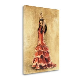 Flamenco Dancer I By Caroline Gold,  Gallery Wrap Canvas