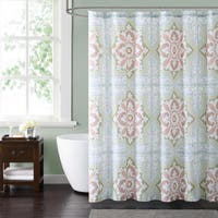 Style 212 Sheffield Green 72 x 72 Shower Curtain