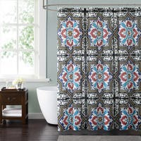 Style 212 Sheffield Blue 72 x 72 Shower Curtain