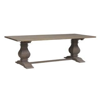 Caribou Dane Vintage Salvage Finish Large Wood Dining Table
