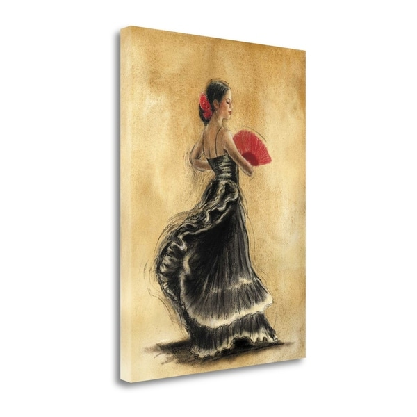 Flamenco Dancer II By Caroline Gold,  Gallery Wrap Canvas