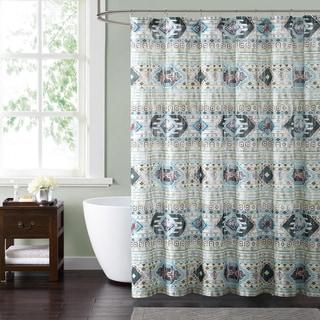 Style 212 Simone Tribal 72 x 72 Shower Curtain