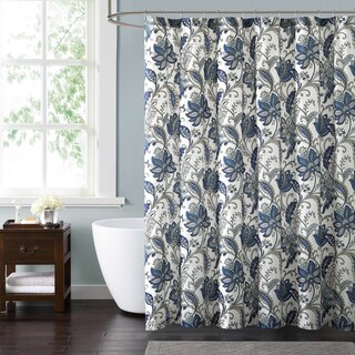 Style 212 Bettina Floral 72 x 72 Shower Curtain