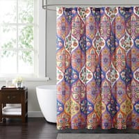 Style 212 Paloma Ogee 72 x 72 Shower Curtain