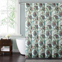Style 212 Kass Floral 72 x 72 Shower Curtain