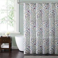 Style 212 Nealy Floral 72 x 72 Shower Curtain