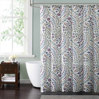 purple and brown shower curtain. Style 212 Nealy Floral 72 x Shower Curtain Purple Curtains For Less  Overstock com Vibrant Fabric