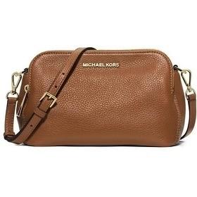 c9118cf97647 Michael Kors Bedford Medium Messenger Bag - Luggage - 30H4GBFM2L-230