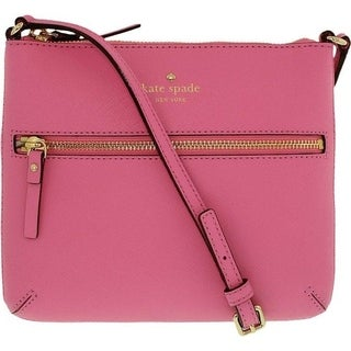 Kate Spade New York Cedar Street Tenley Crossbody Leather Cross-Body Satchel - Pink