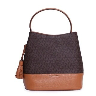 Michael Kors Kip Large Bucket Bag - Brown - 30H6GK8M3B-847