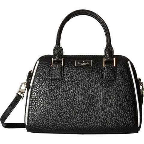 Kate Spade Prospect Place Small Pippa Satchel - Black - PXRU6626-001