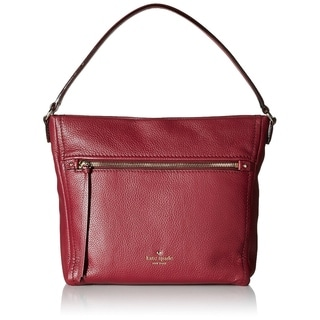 Kate Spade Cobble Hill Teagan Hobo Bag - Merlot - PXRU6478-632