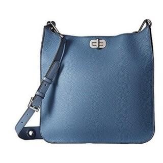 Michael Kors Sullivan Large Leather Messenger Bag Denim 30H6SUPM3L 405