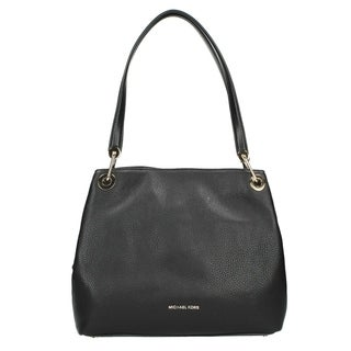 bf3b106ae39d Shop Michael Kors Raven Large Leather Shoulder Bag - Black - 30H6GRXE3L-001  - Free Shipping Today - Overstock - 17760501