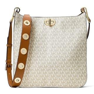Michael Kors Sullivan Large Logo Messenger Bag - Vanilla - 30H6GUPM3V-150