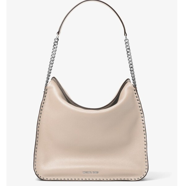 a6d2d9af8ea0f Shop Michael Kors Astor Studded Large Hobo Bag - Cement - 30T6SATH3L-092 - Free  Shipping Today - Overstock - 17760549