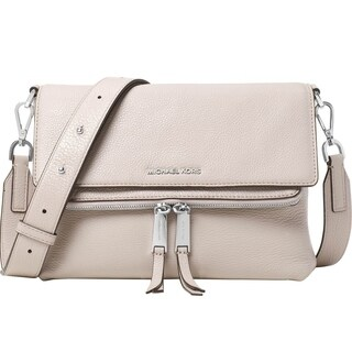 Michael Kors Ezra Medium Messenger Bag - Cement - 30T6SE5M2L-092