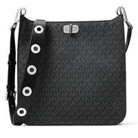 Michael Kors Sullivan Signature Large North South Messenger Bag - Black - 30H6SUPM3V-001