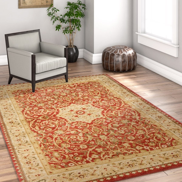 Well Woven Vienna Red Persian Oriental Area Rug - 7'10 x 10'6