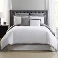 Truly Soft Everyday Hotel Border 7-piece Duvet Cover Set
