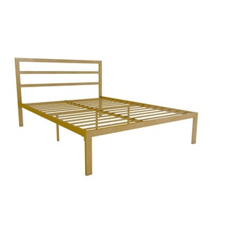 Avenue Greene Monica Metal Full Platform Bed with Headboard (2 options available)