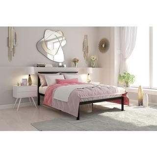 DHP Signature Sleep Full size Premium Modern Platform Bed With Headboard. DHP Beds For Less   Overstock com