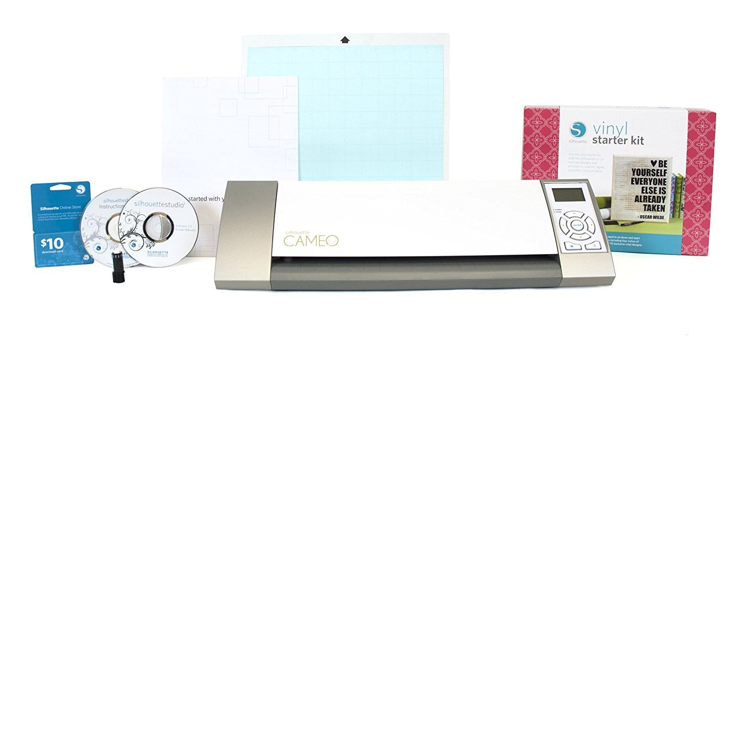 Silhouette Cameo Electronic Cutting Tool with Vinyl Patte...
