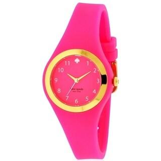 Kate Spade New York Rumsey Pink and Gold-Tone Ladies Watch 1YRU0608