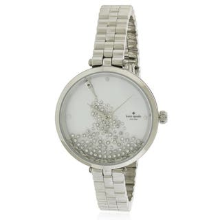 Kate Spade Holland Stainless Steel Ladies Watch KSW1235|https://ak1.ostkcdn.com/images/products/17761106/P23960165.jpg?impolicy=medium