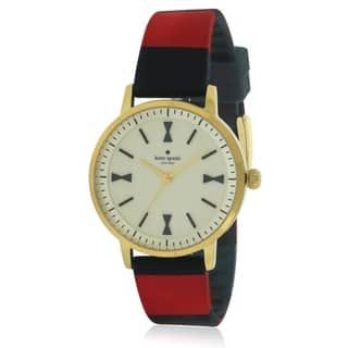 Kate Spade New York Crosby Leather Ladies Watch KSW1038|https://ak1.ostkcdn.com/images/products/17761114/P23960200.jpg?impolicy=medium