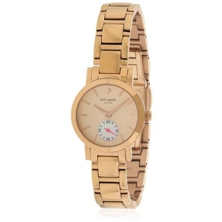Kate Spade New York Rose Gold-Tone Stainless Steel Ladies Watch 1YRU0544