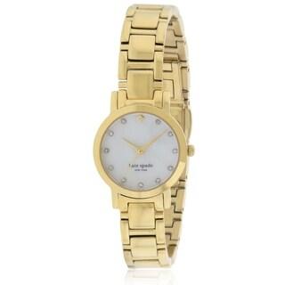 Kate Spade New York Gold-Tone Stainless Steel Ladies Watch 1YRU0145