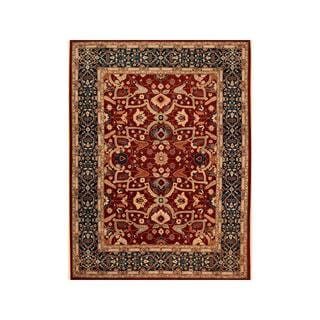 Arshs Fine Rugs Hand-knotted Kafkaz Peshawar Odell Red/Blue Wool Rug - 9' x 12'