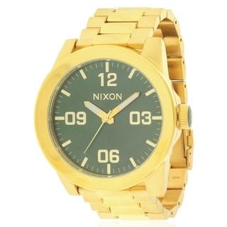 Nixon Corporal Gold-Tone Mens Watch A3461919