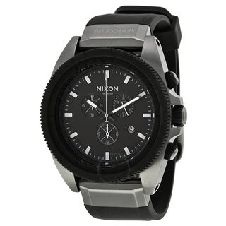 Nixon Rover Chronograph Silicone Mens Watch A2901531