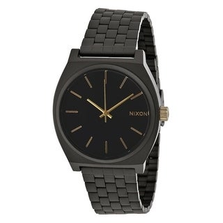 Nixon Time Teller Black Stainless Steel Mens Watch A0451041