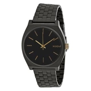 Nixon Time Teller Black Stainless Steel Mens Watch A0451041|https://ak1.ostkcdn.com/images/products/17761396/P23960648.jpg?impolicy=medium