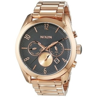 Nixon Bullet Chronograph Rose Gold-Tone Ladies Watch A3662046