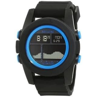 Nixon Unit Tide Digital Silicone Unisex Watch A282018|https://ak1.ostkcdn.com/images/products/17761406/P23960658.jpg?impolicy=medium