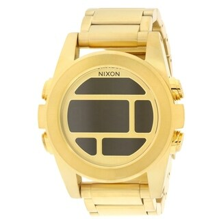 Nixon Unit Gold-Tone Mens Watch A360502