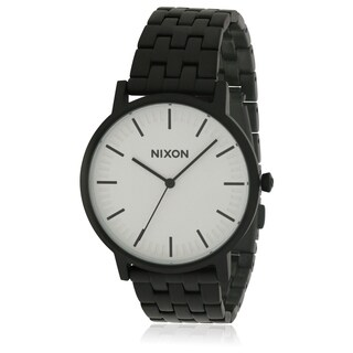 Nixon Porter Black Stainless Steel Mens Watch A10572493