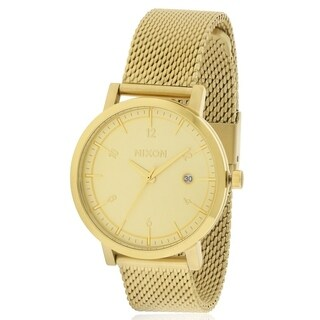 Nixon Gold-Tone Stainless Steeel Mens Watch A1087502