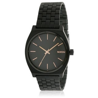 Nixon Time Teller Black Stainless Steel Automatic Mens Watch A045957