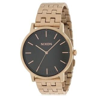 Nixon Rose Gold-Tone Mens Watch A10571932